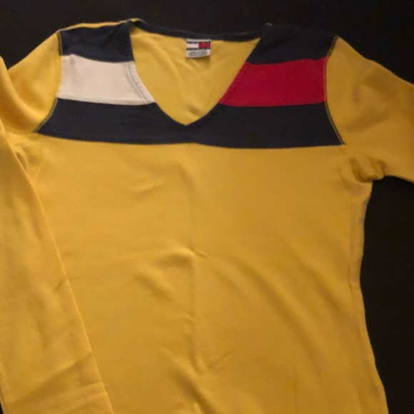 Tommy Hilfiger Other - Yellow Tommy Hilfiger Shirt